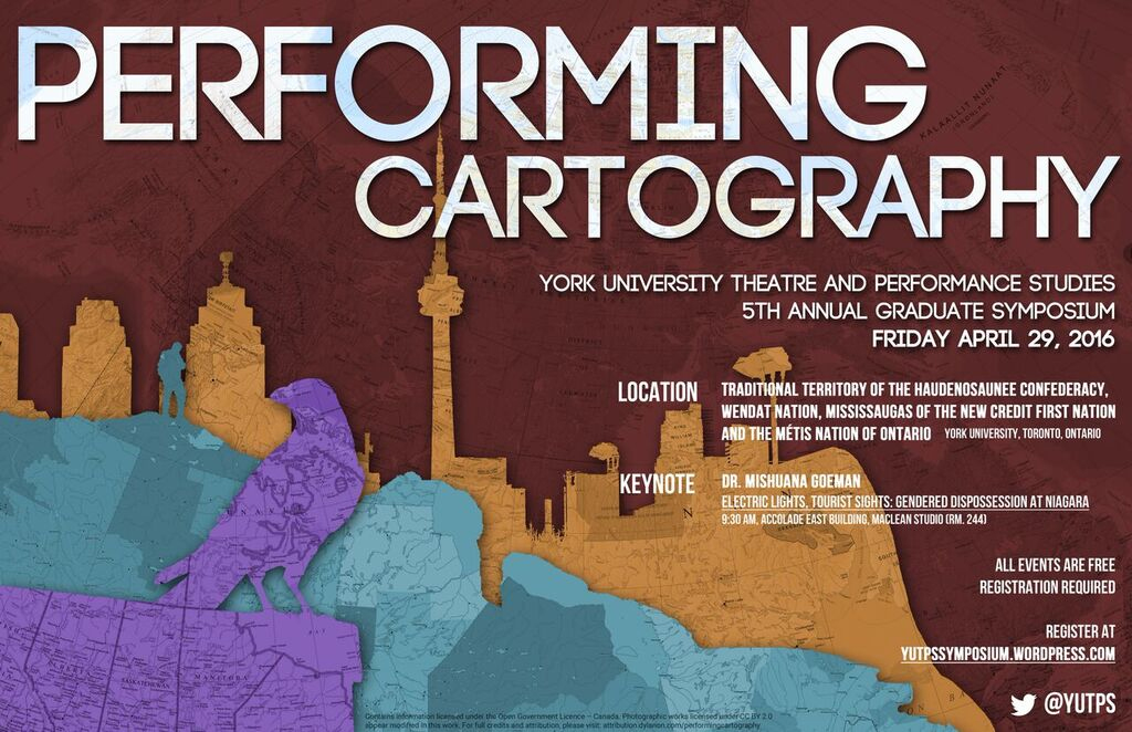 Performing Cartography flyer