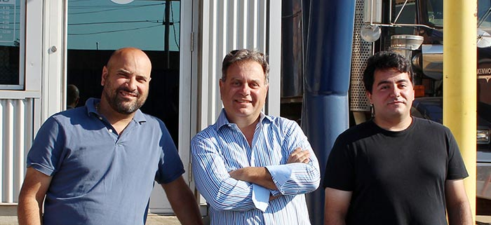 Peter Racco, Ralph Grittani and Jose Miranda