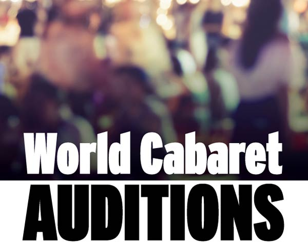 World Cabaret Auditions @ Accolade East Building