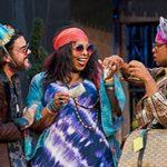 Jason Cadieux, Jenni Burke, Peter Fernandes in Twelfth-Night---Photo Cylla von Tiedemann