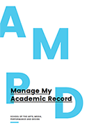 Manage My Academic Record