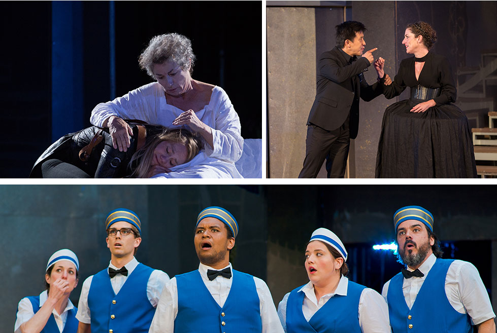 Production Images from King Lear and Twelfth Night by Cylla von Tiedemann