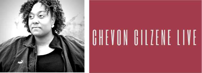 Flyer for Chevon Gilzene's concert