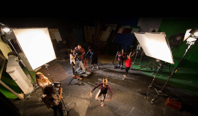 Production-Students-Filming