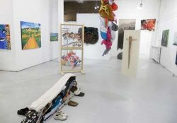 Photo of tThe Collective exhibition at Gallery 1313