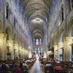 Interior photo of Notre Dame (via GlobalNews/Getty Images)