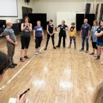 Intimacy Directors International association have a 9 day intensive