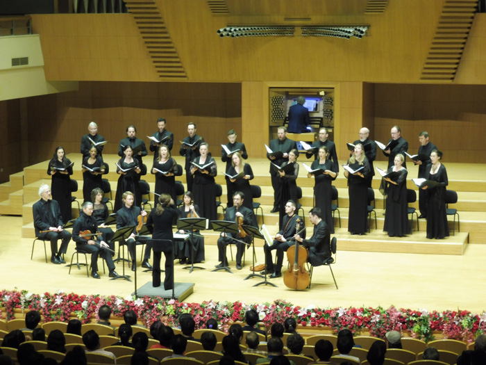The Ottawa Bach Choir performs on tour