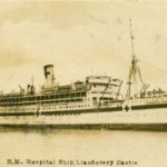 Historical photo of the a Canadian hospital ship, the Llandovery Castle