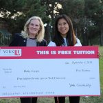 First-year design student wins the York U free tuition contest