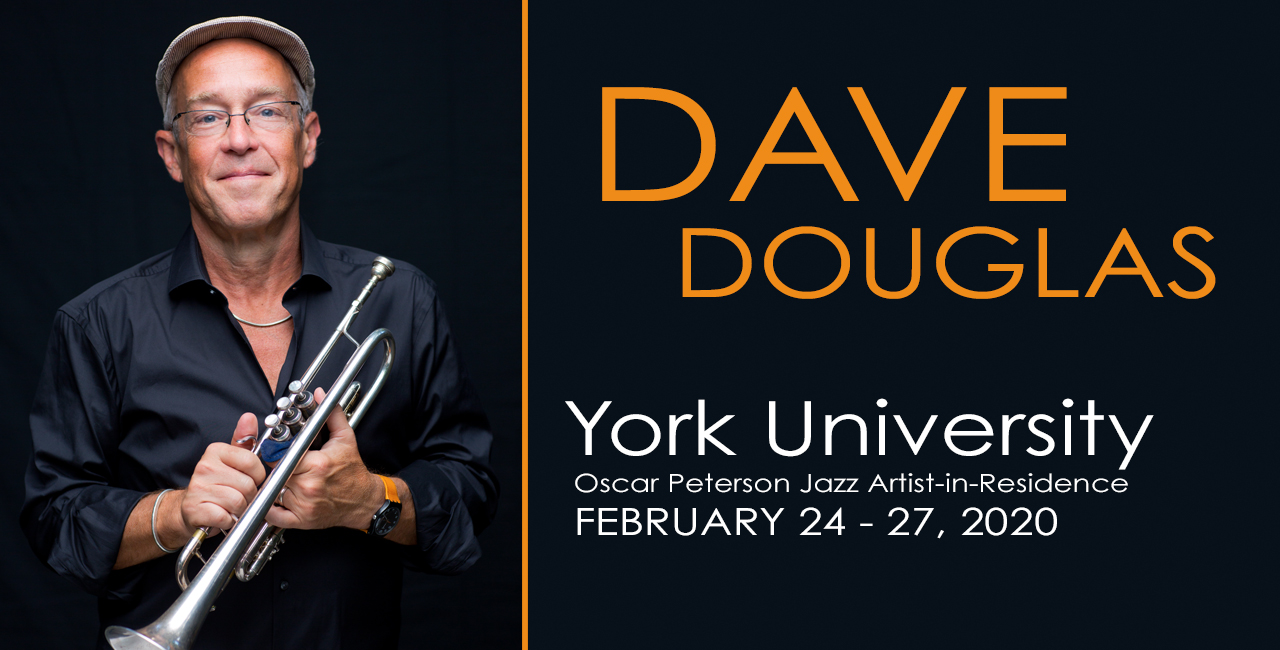 Dave Douglas with trumpet
