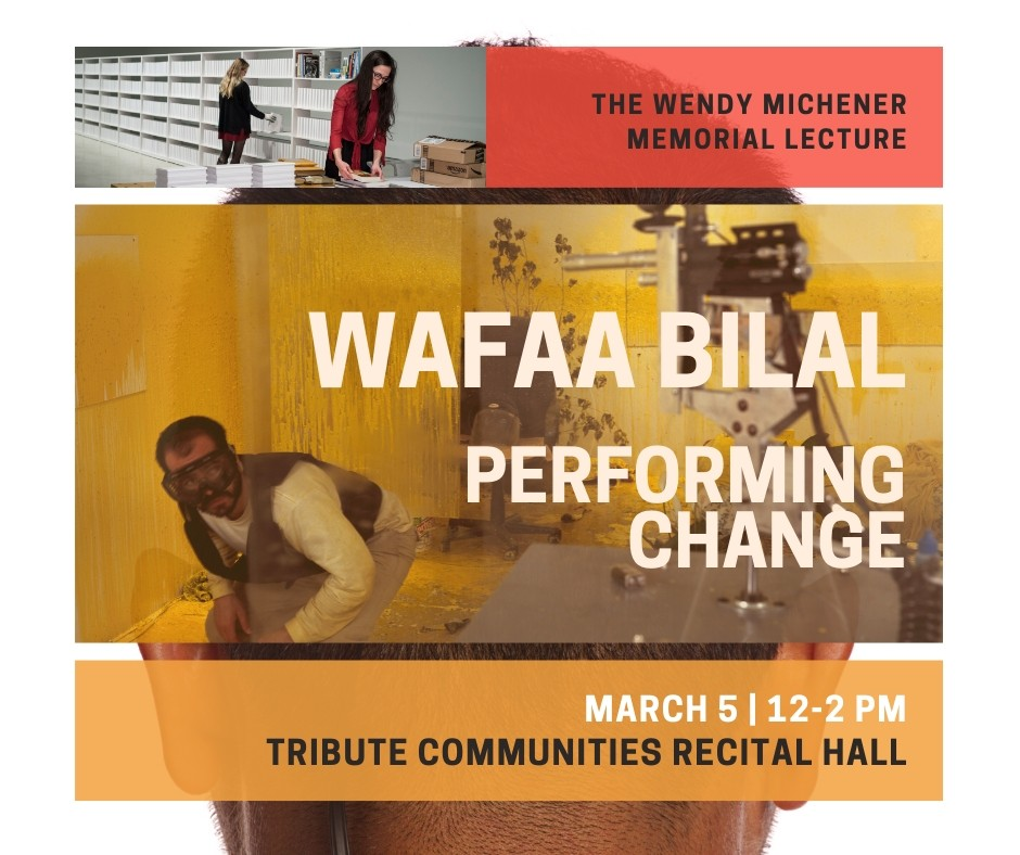 Iraqi-born artist Wafaa Bilal's Performing Change