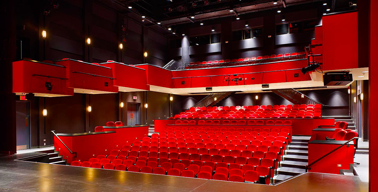 Picture of the inside Sandra Faire and Ivan Fecan Theatre
