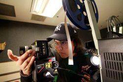 Digitizing 16mm film.