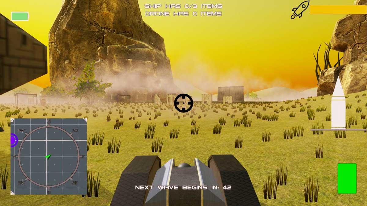 Still shot of student game