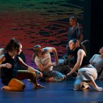 Dancers are on the floor in Language of Landscape