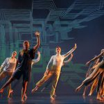 Dancers dance in Language of Landscape