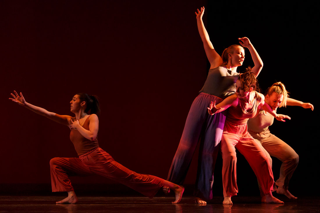 A group of dancers in Theta Waves