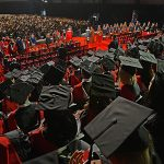 A York University convocation crowd