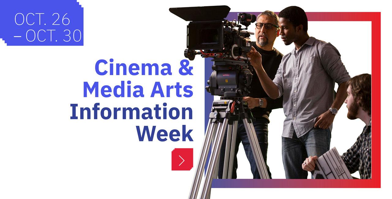 Cinema & Media Arts Info Week 2020
