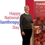 Sarah Bay-Cheng wishes everyone a happy National Philanthropy Day