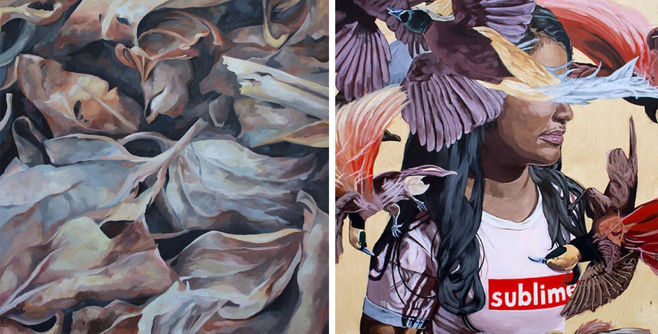 Hadia Hassan and Deanna Gisborne Online Exhibition