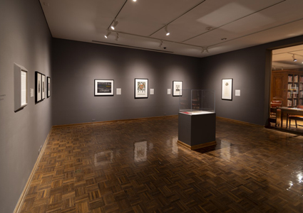 a gallery space