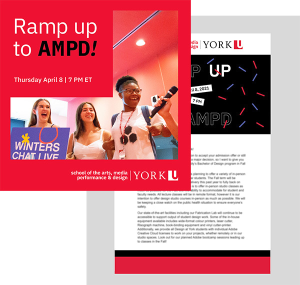RAMP UP to AMPD